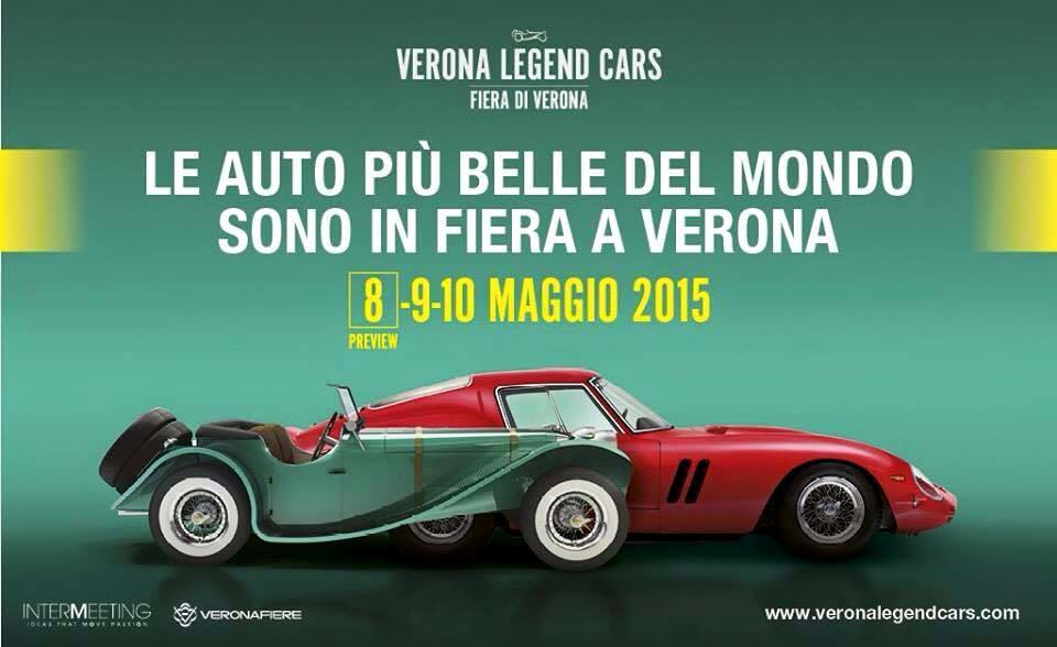 Verona capitale dell'auto con VERONA LEGEND CARS