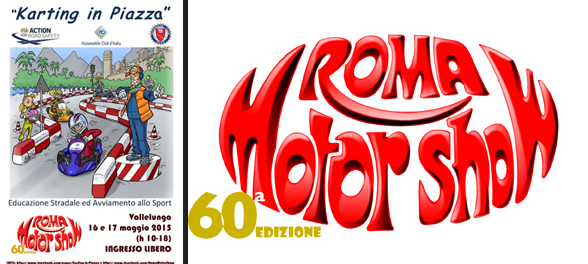 """KARTING IN PIAZZA"" al Roma Motor Show"