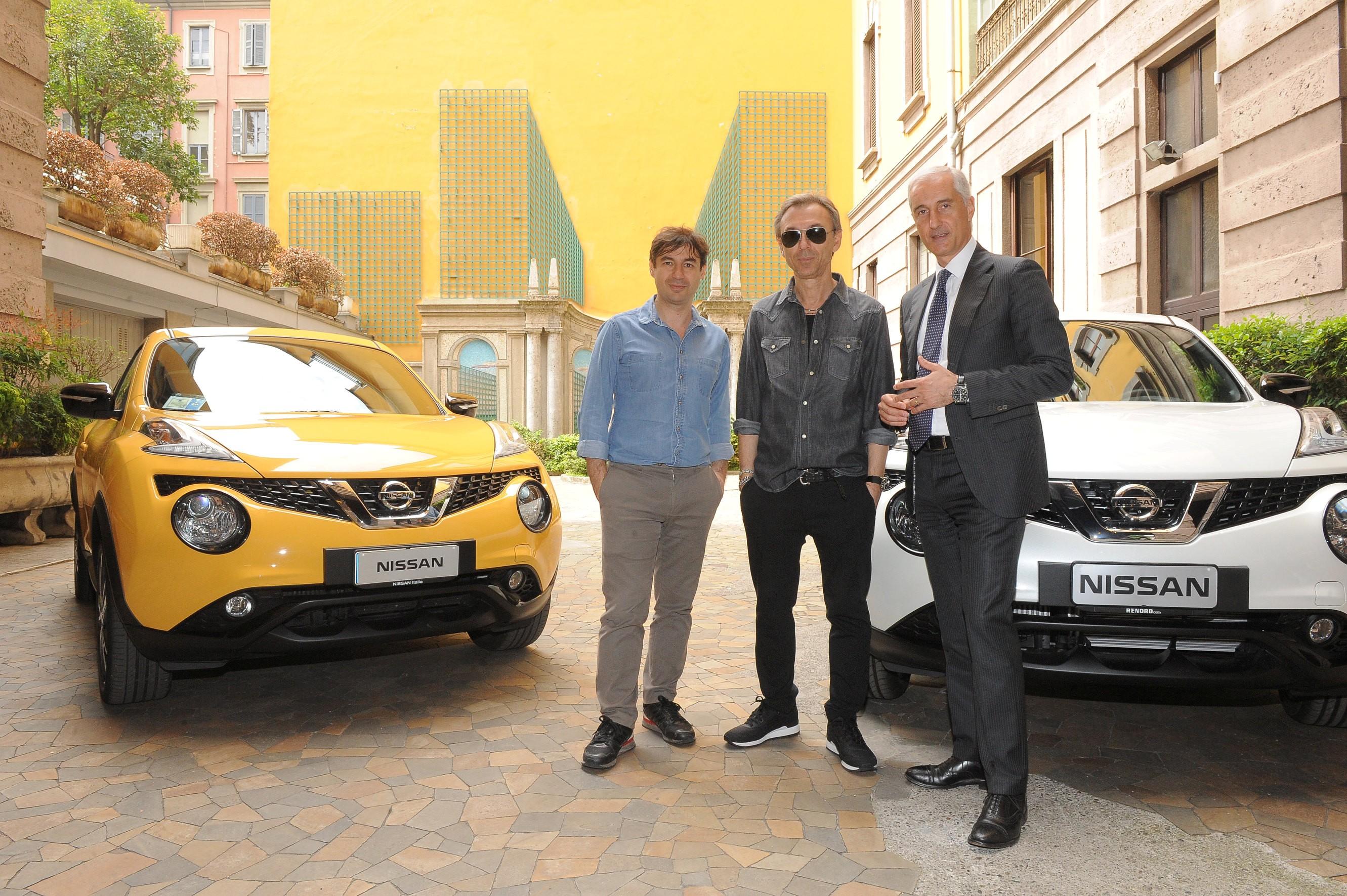 Nissan Juke e Albertino tracciano i suoni della città