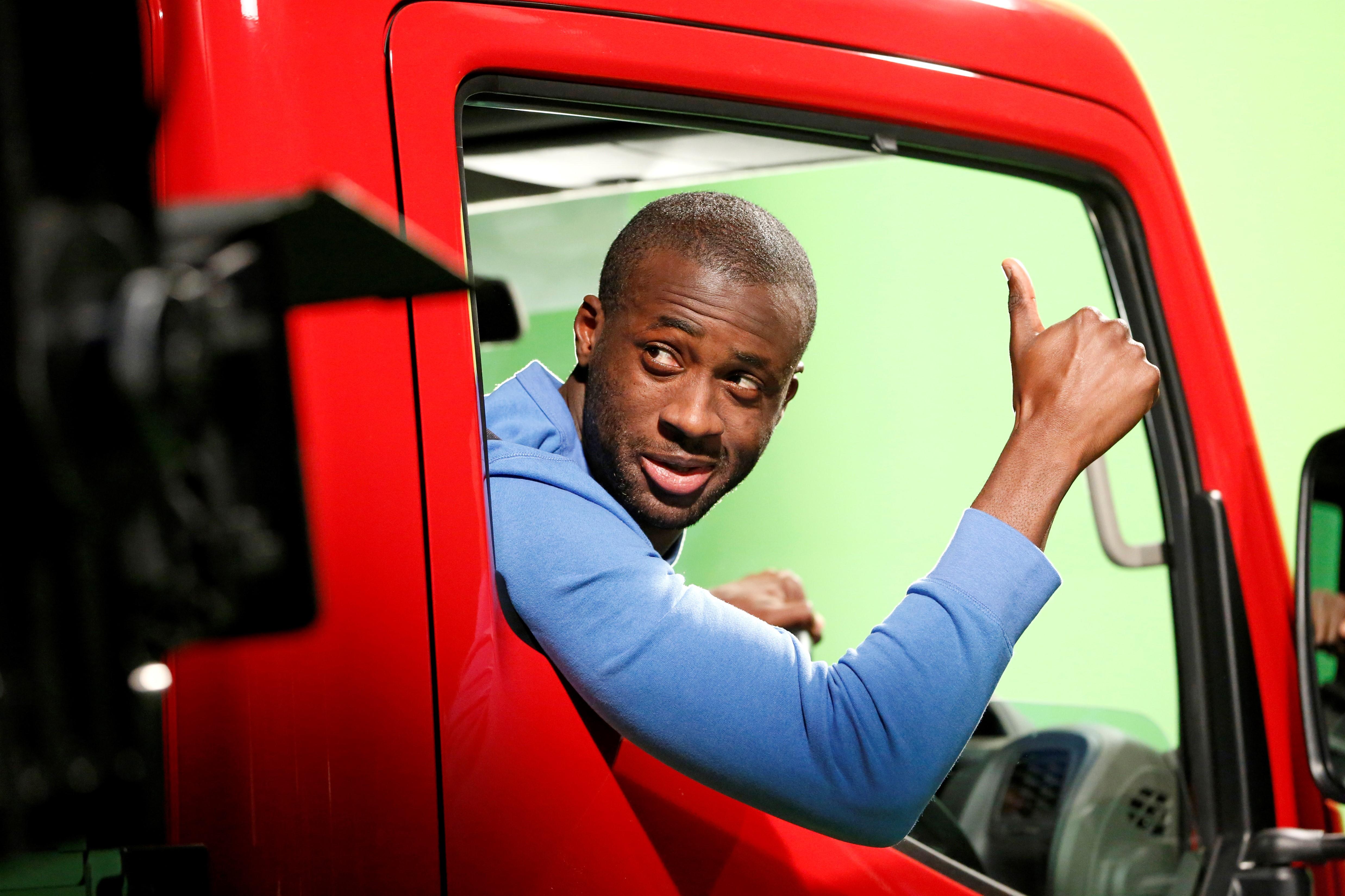 "Nissan e il ""Truckerball"" con Yaya Touré"