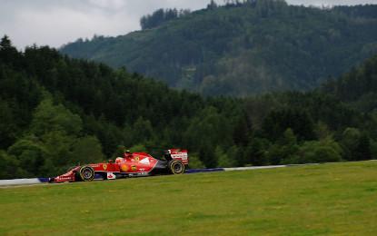 GP Austria: l'anteprima Ferrari con Vettel e Clear
