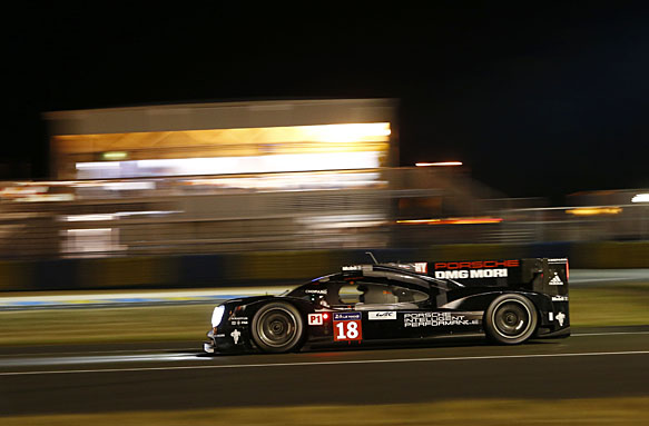 Porsche on pole for 2015 Le Mans 24 Hours