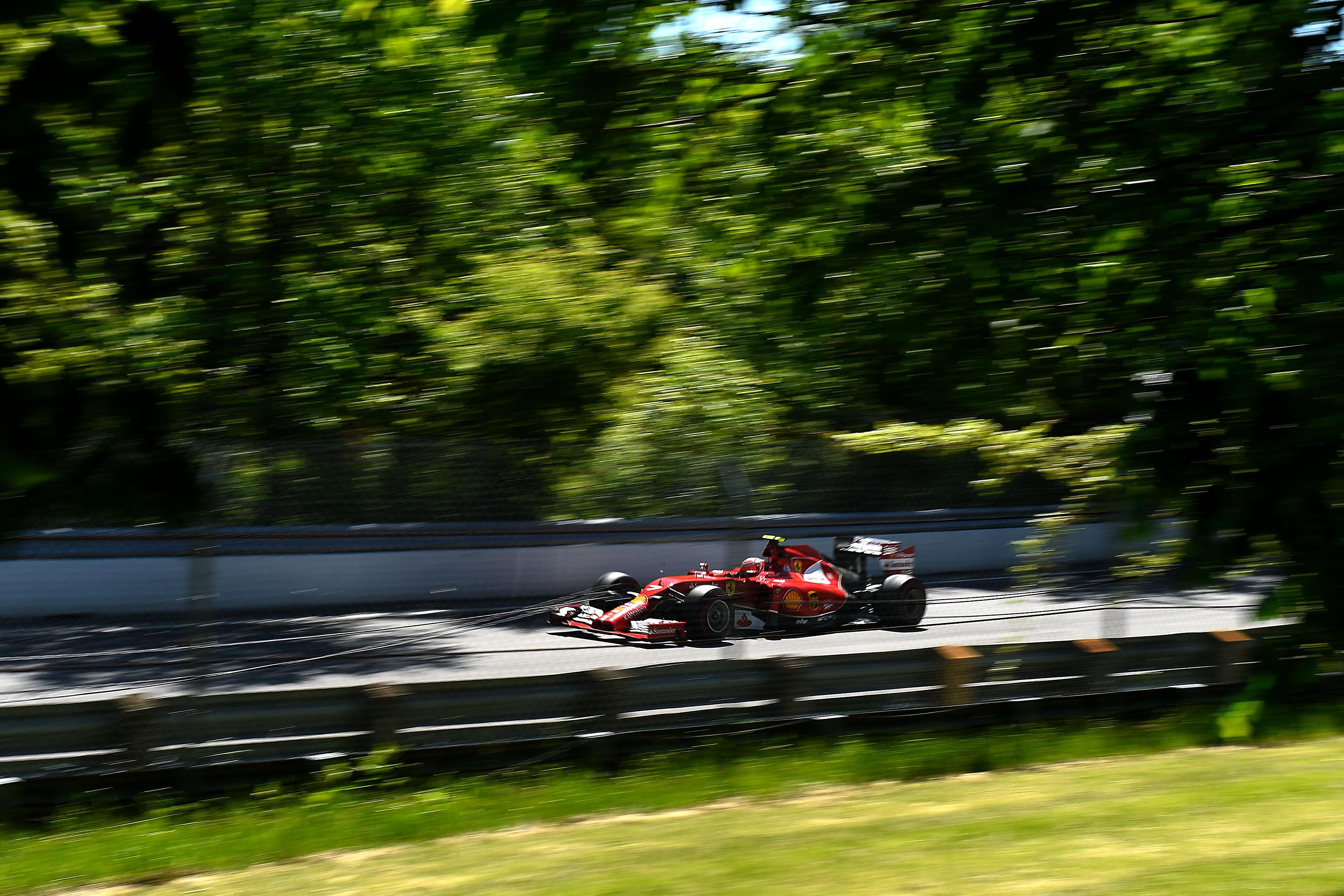 Canada: preparativi e previsioni Ferrari