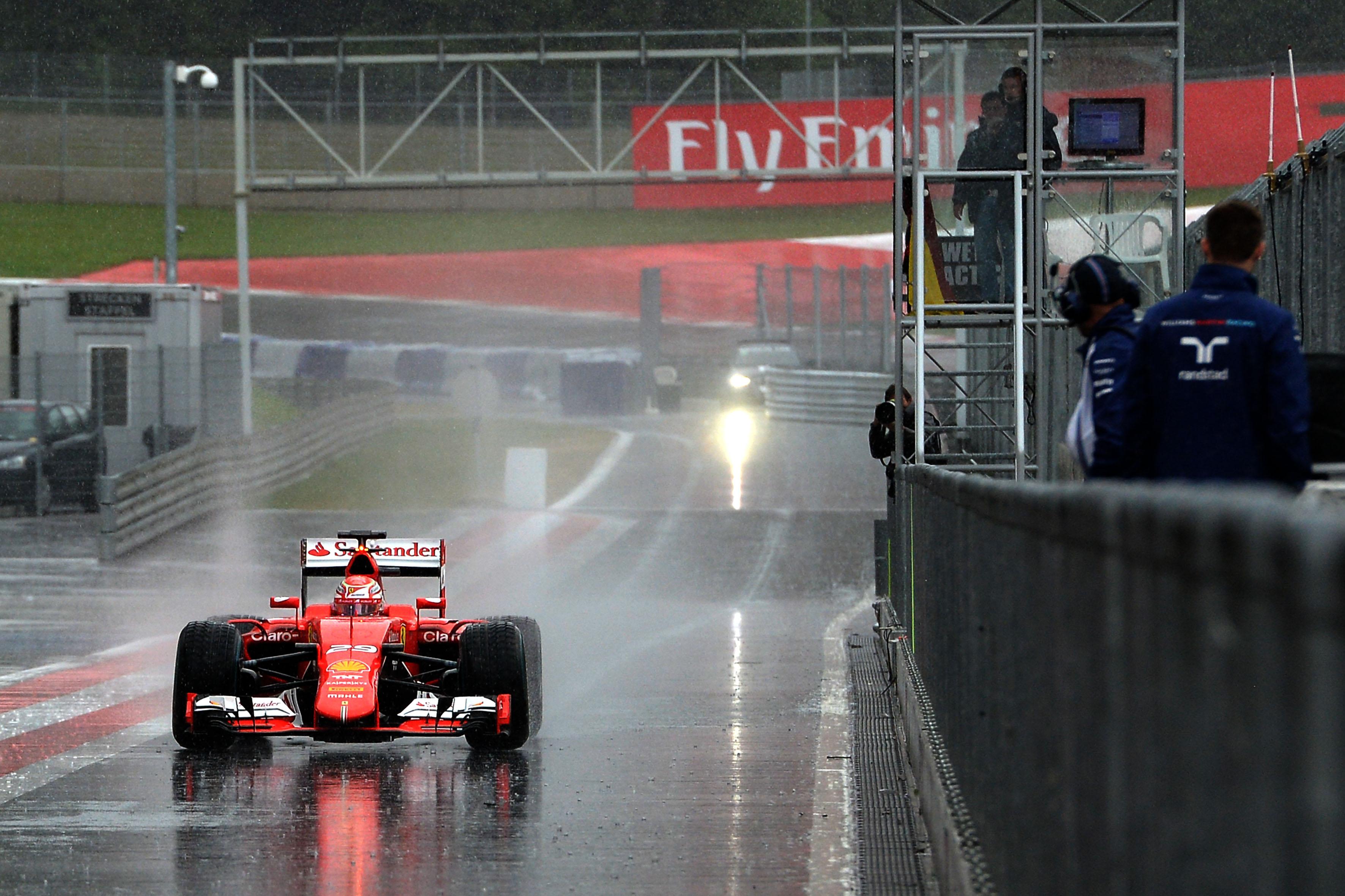 Test F1: per Fuoco battesimo… bagnato!