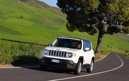 Nuove motorizzazioni per Jeep Renegade