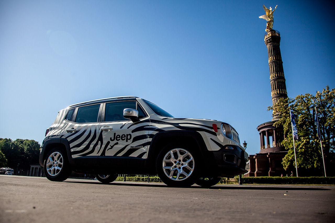 Jeep con la Juventus a Berlino #finoallafine