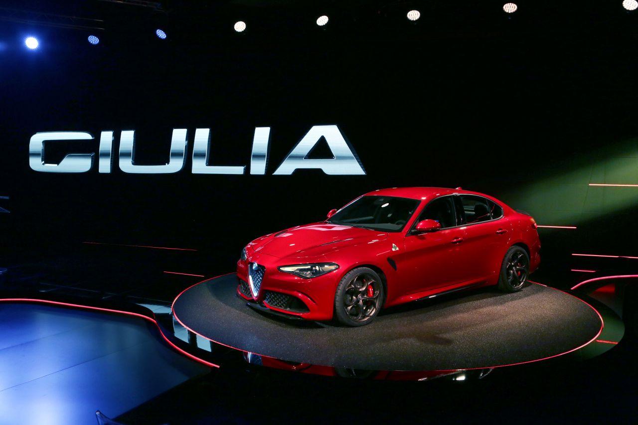 Alfa Romeo: ecco la nuova Giulia