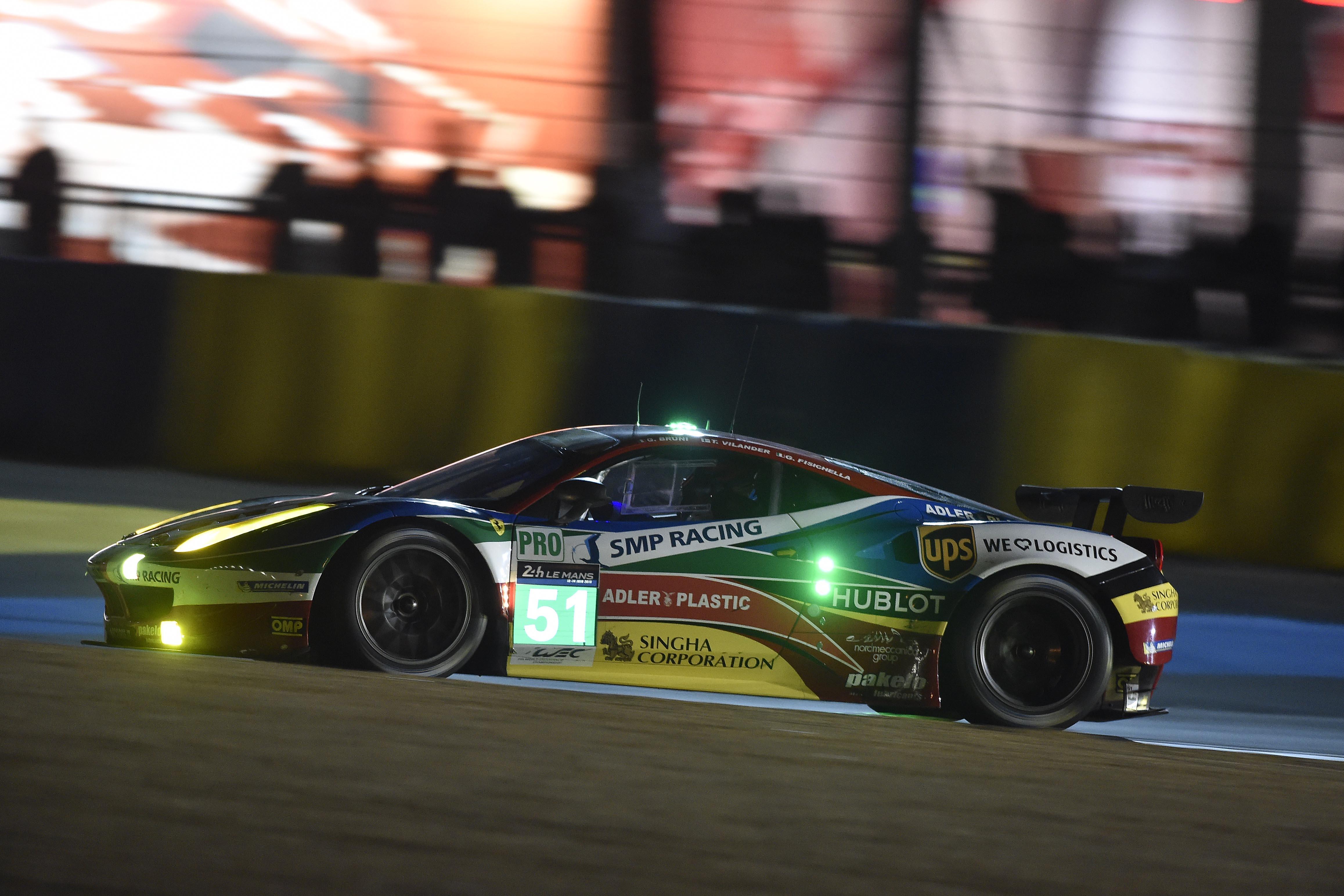 Le Mans: prime qualifiche non fortunate per la Ferrari