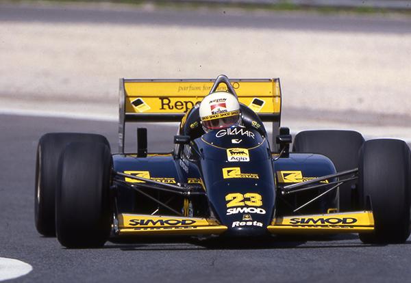 Austria: torna la Minardi M186 con Martini