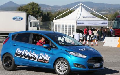 Driving Skills For Life: debutto a Napoli