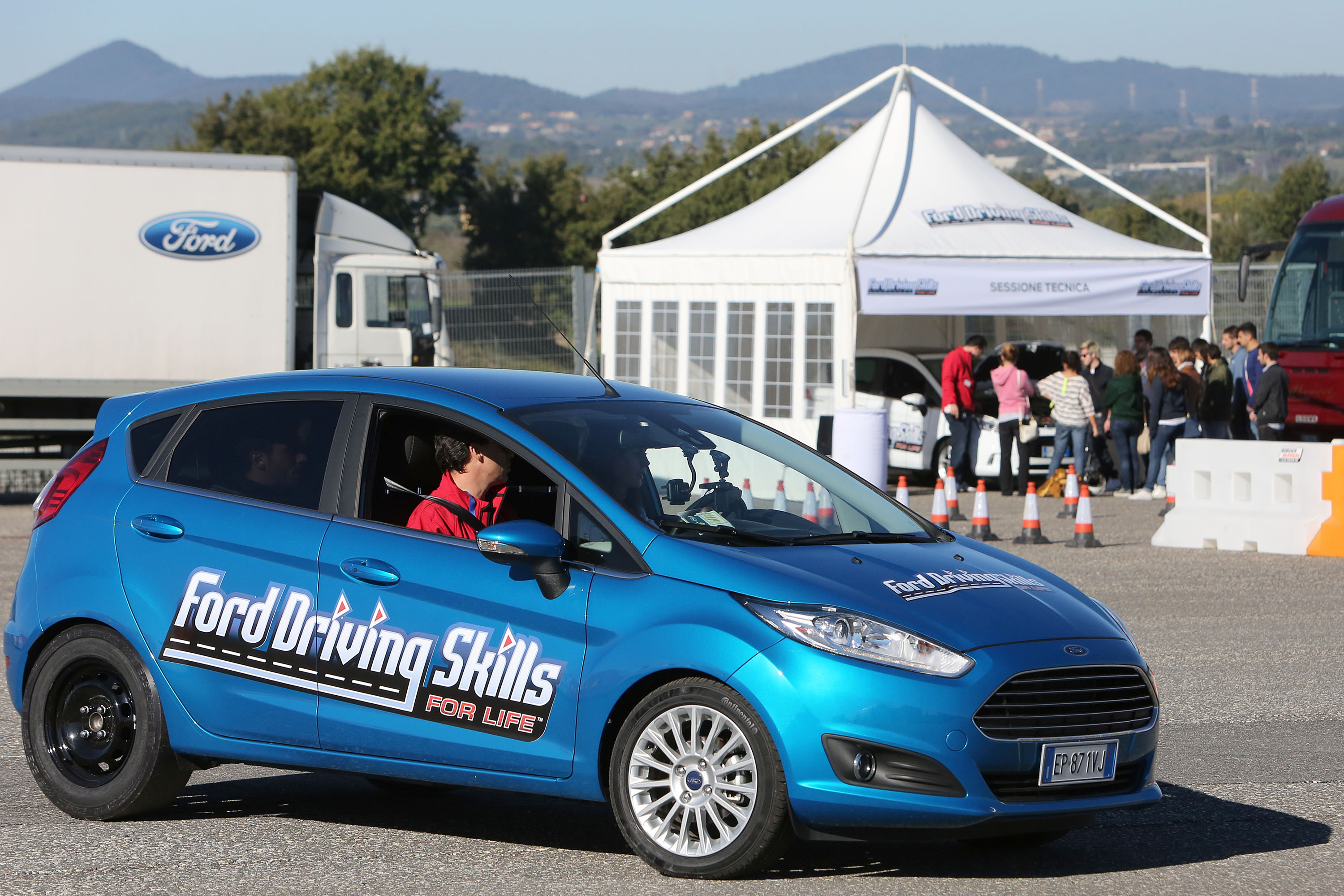 Driving Skills For Life: debutto a Napoli
