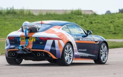 Jaguar: test frenata da record
