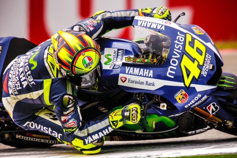 Assen: Rossi, davanti a Marquez e Lorenzo