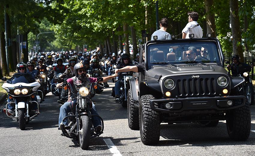Raduno Jeep&H-D: un altro grande successo