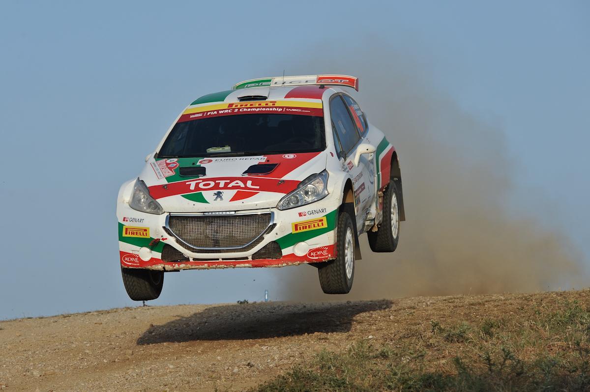 """Andreucci """"Italian hero"""" al WRC"""