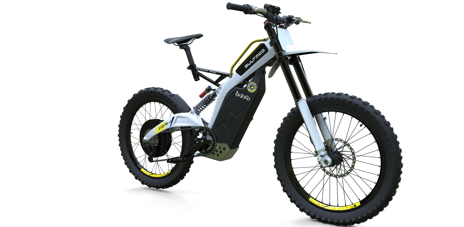 Bultaco lancia l'elettrica Brinco