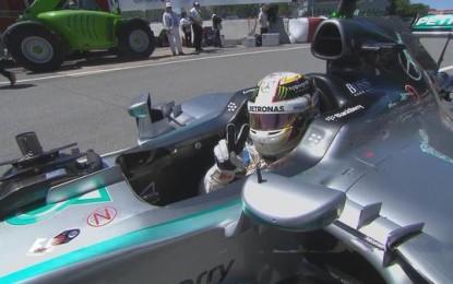 Canada: Lewis in pole su Nico e Kimi