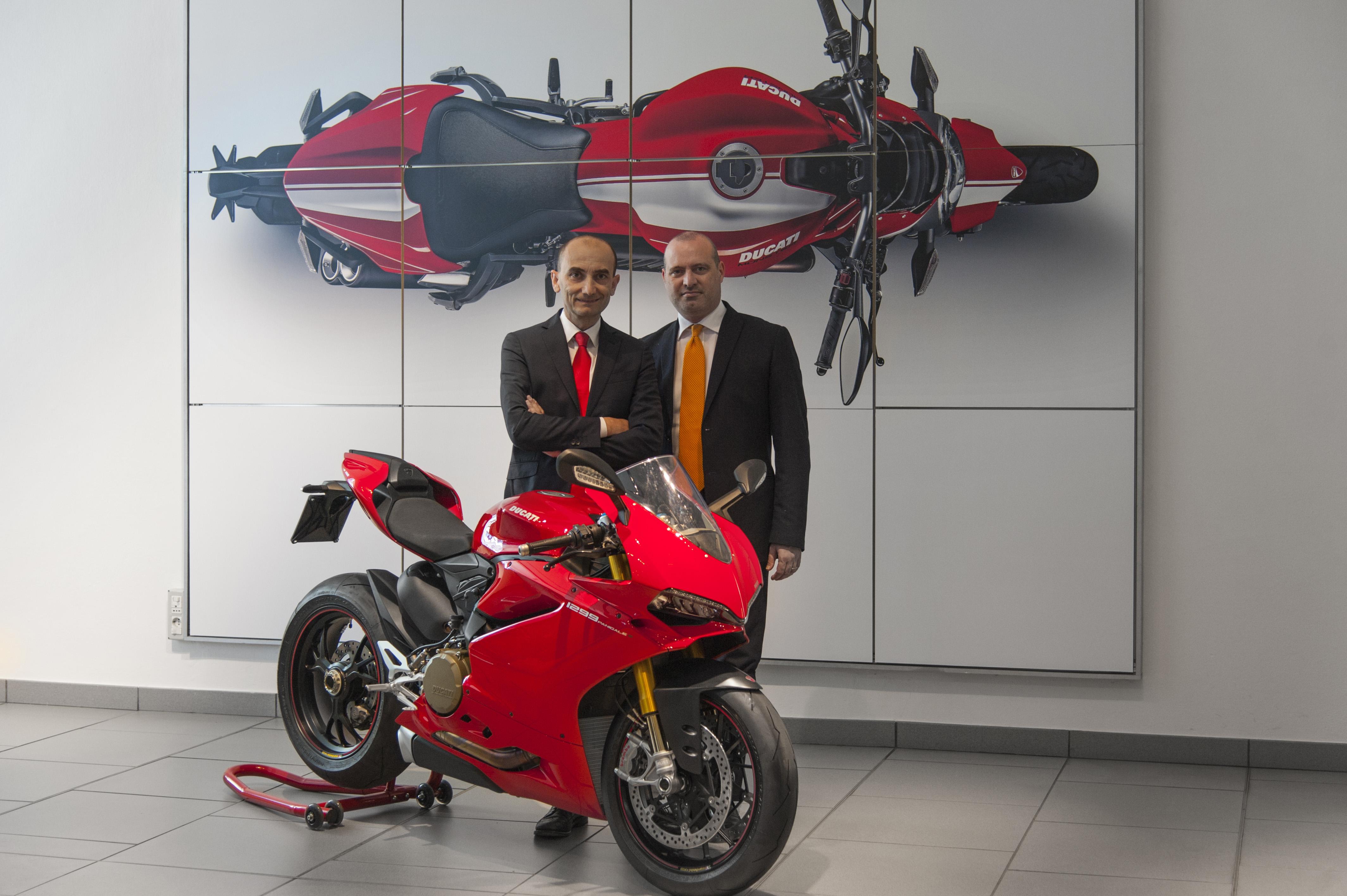 Ducati: il presidente dell'Emilia Romagna in visita