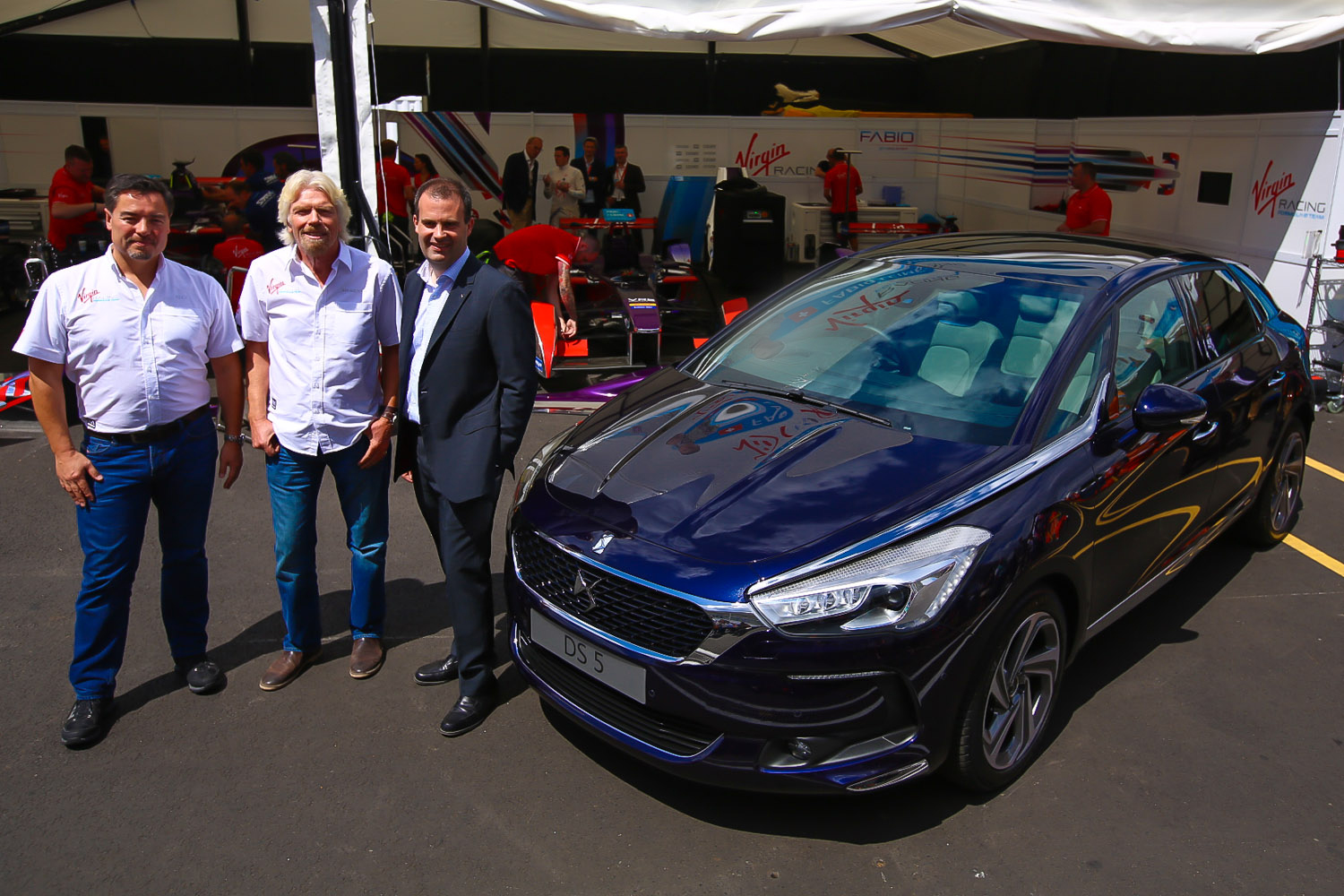Formula E: nasce il team DS Virgin Racing