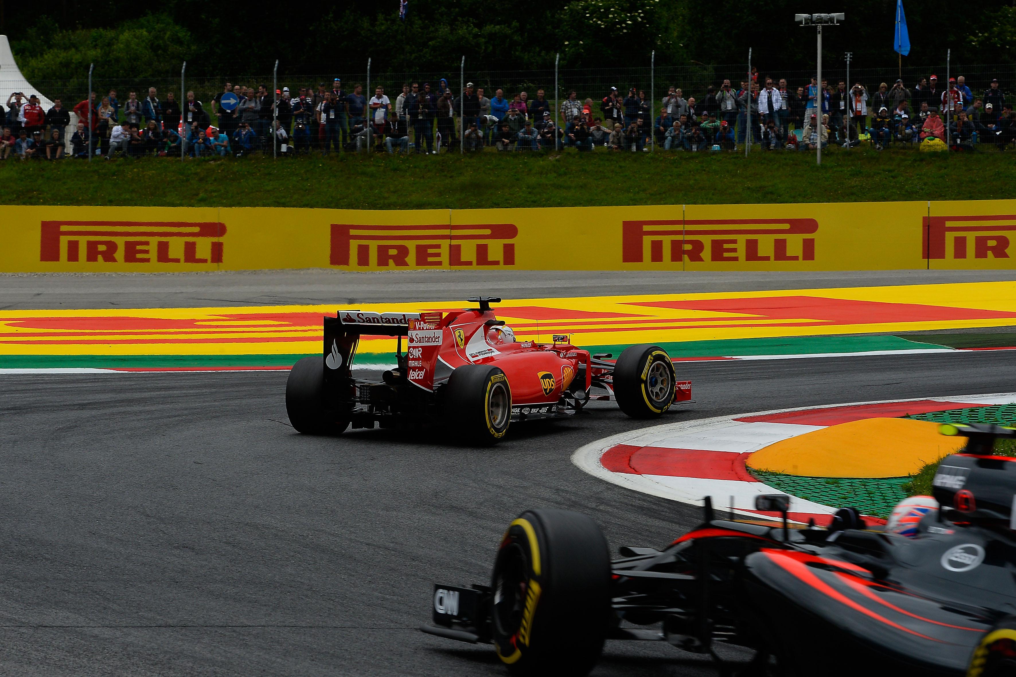 Austria: Vettel davanti a tutti con le supersoft