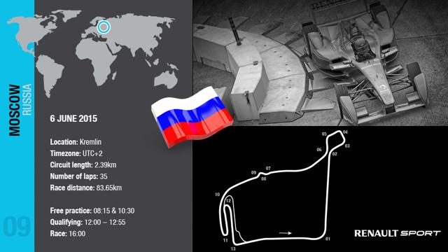 ePrix Mosca: Renault si ricarica per il nuovo round