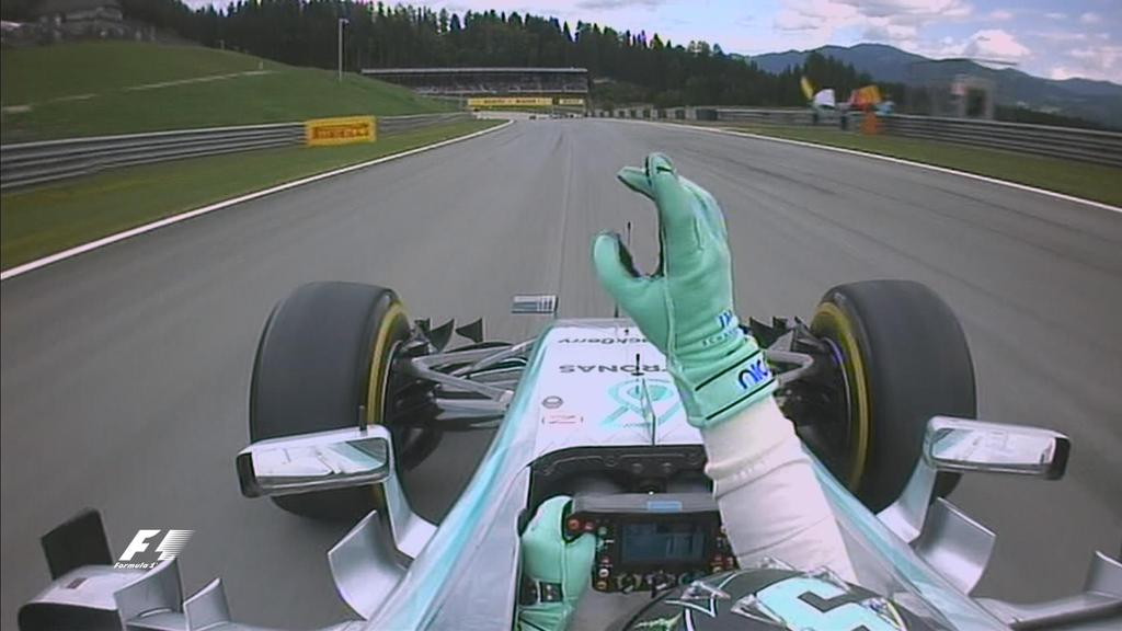 Austria: Rosberg fa il bis, davanti a Lewis e Felipe