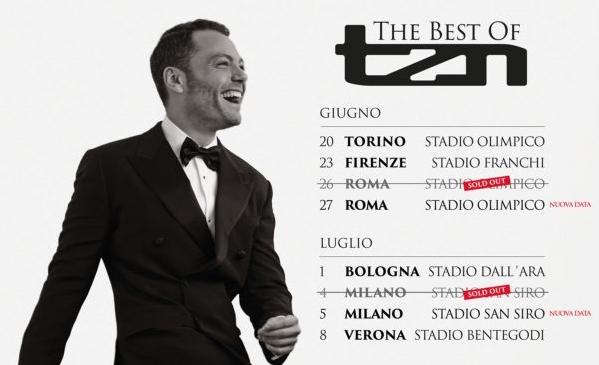BMW Italia partner tecnico del tour 2015 di Tiziano Ferro