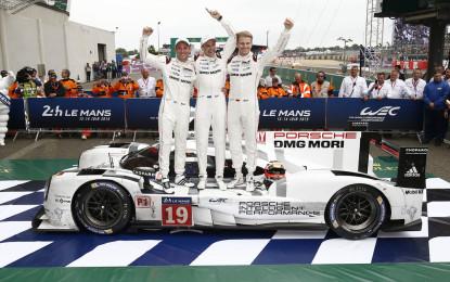 #LM24 Porsche: 395 giri per la vittoria!