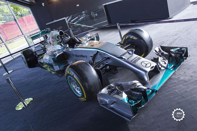 Al Museo della Velocità la Mercedes Campione 2014