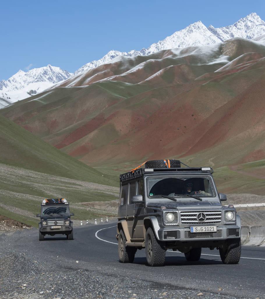Classe G sul K2: il viaggio non finisce mai!