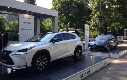 Toyota e Lexus in mostra al Valentino