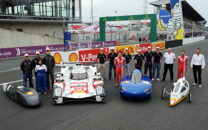 Le Mans: Shell introduces the most energy efficient cars
