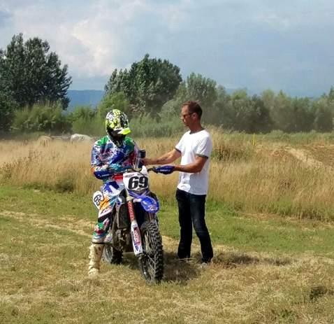 Rocco Siffredi ospite del Team JK Racing