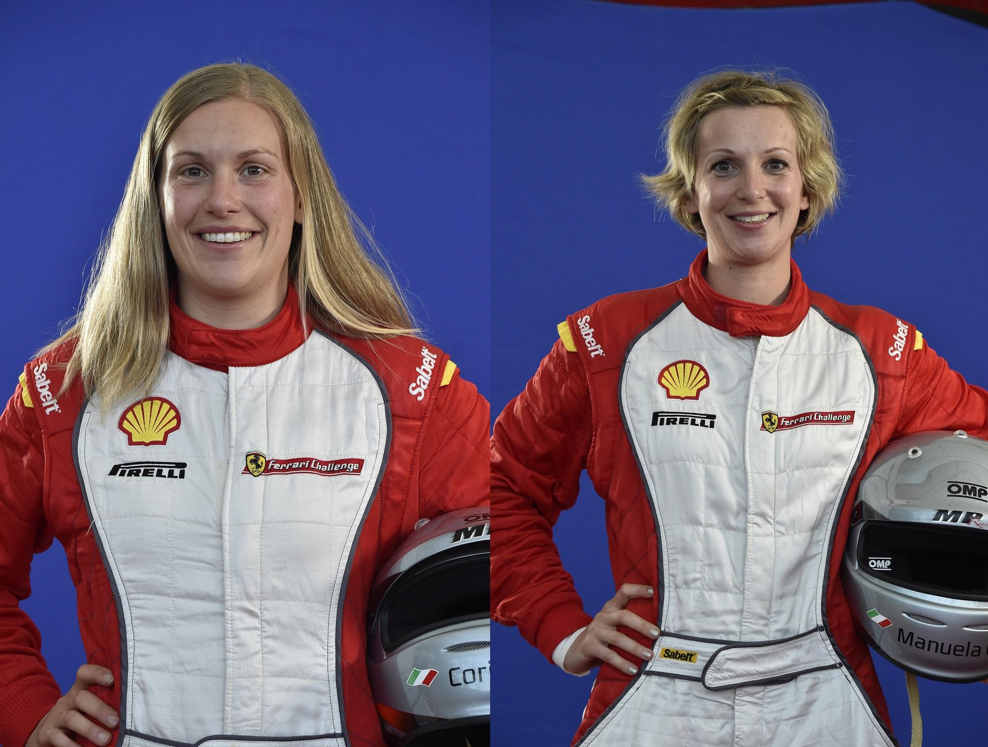 Corinna e Manuela, sorelle da corsa