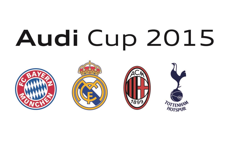 Audi Cup 2015: i partecipanti