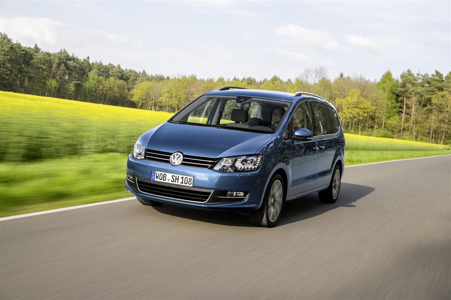 Volkswagen presenta la nuova Sharan