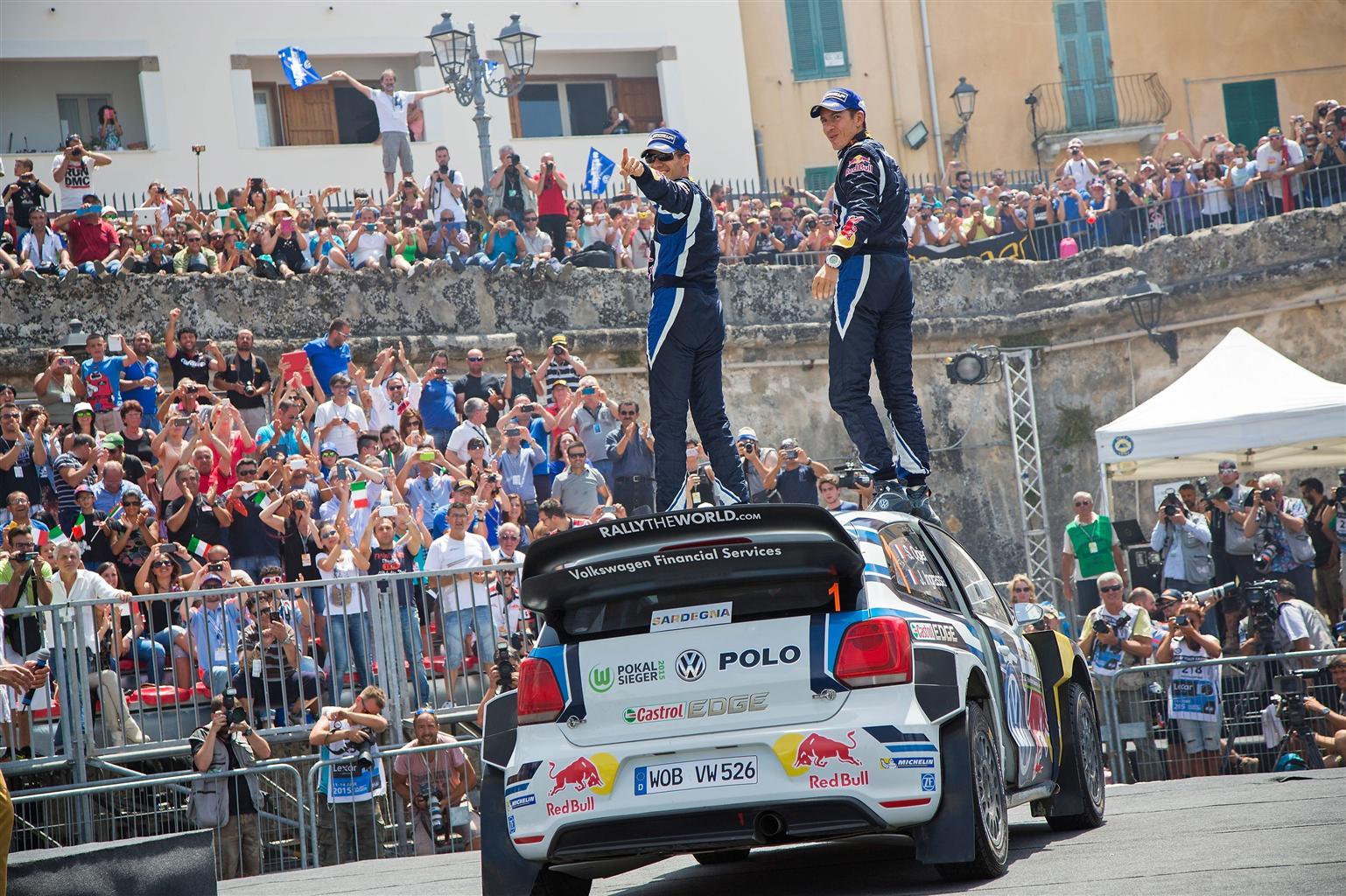 Ogier e la Polo R WRC vincono il Rally d'Italia