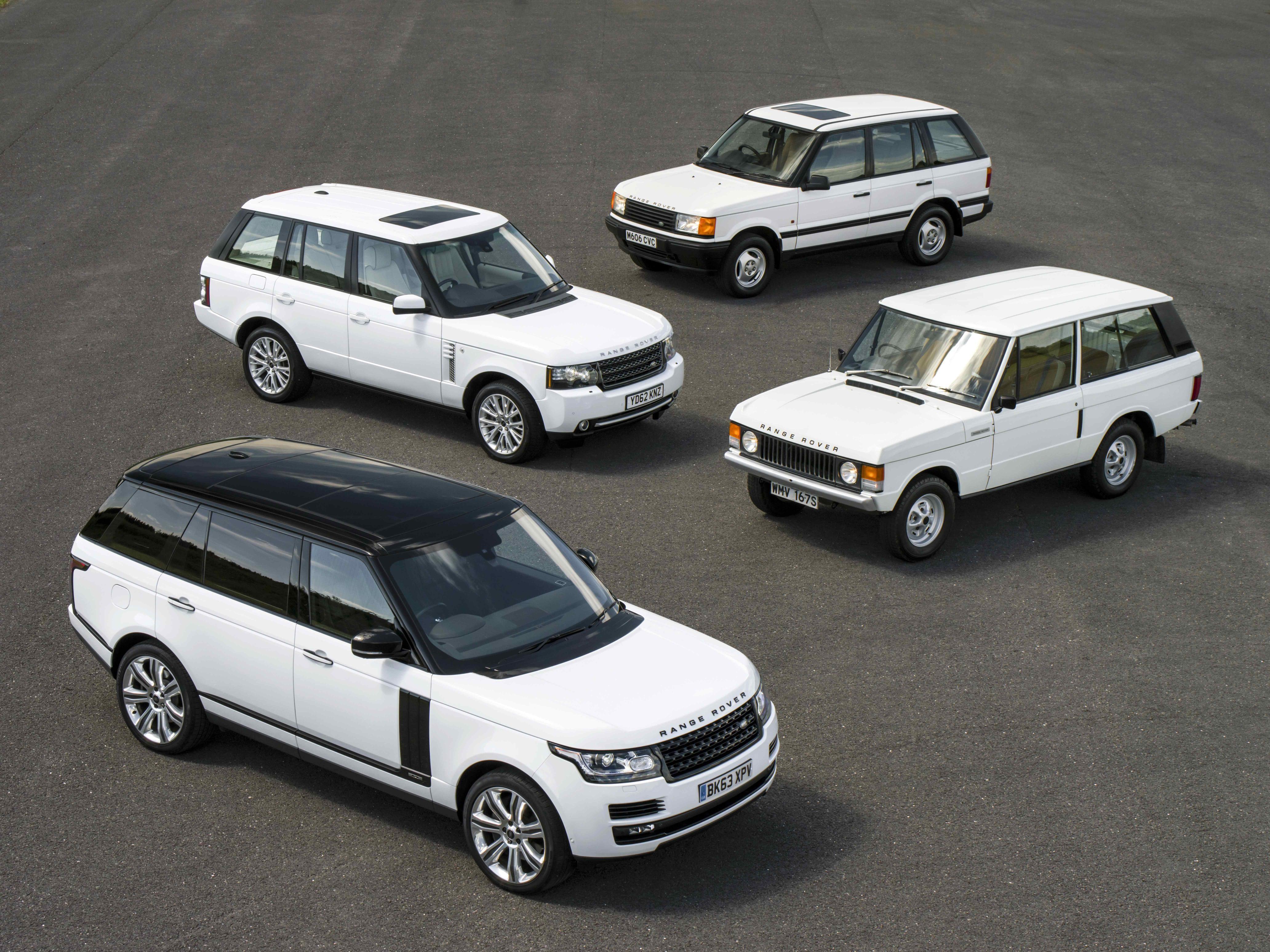 Range Rover: una storia lunga 45 anni