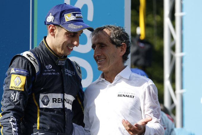 Buemi & E.dams-Renault's big day