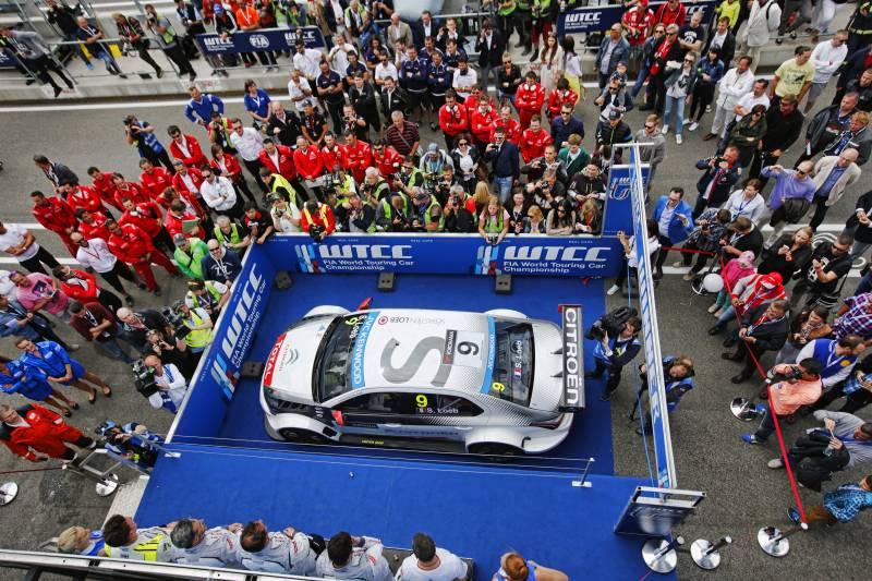 WTCC: Citroën monopolizza il podio slovacco