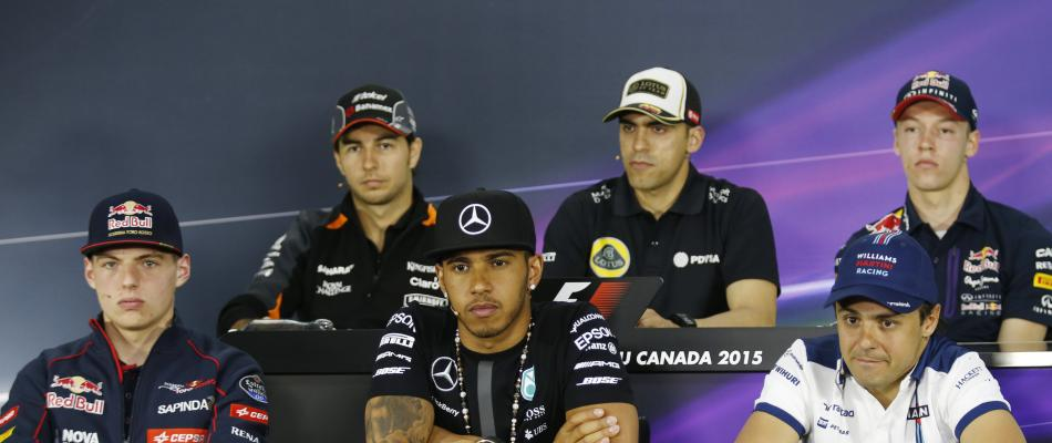 Canada: press conference piloti