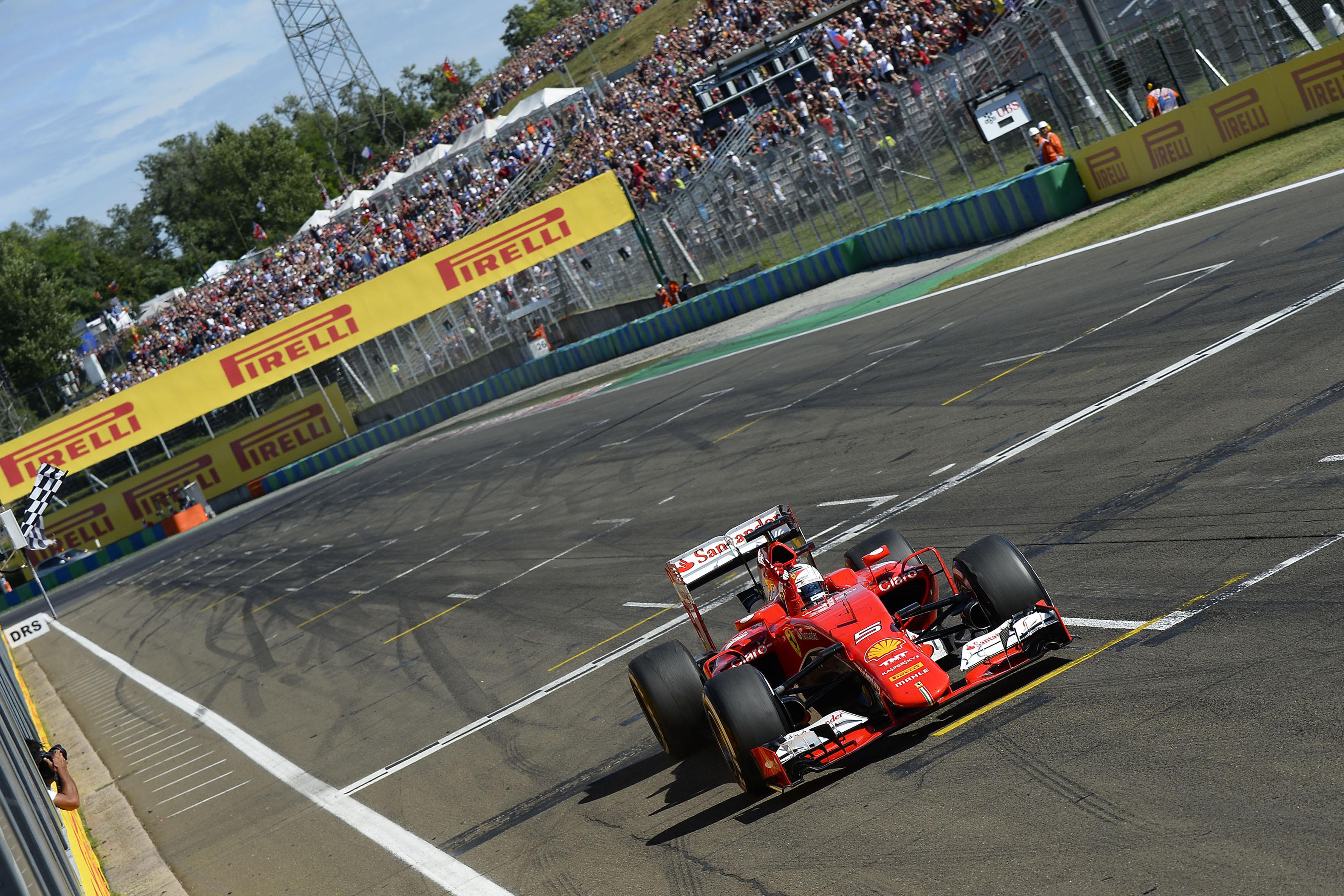 """Ungheria: Ferrari """"Jules, questa è per te"""""""