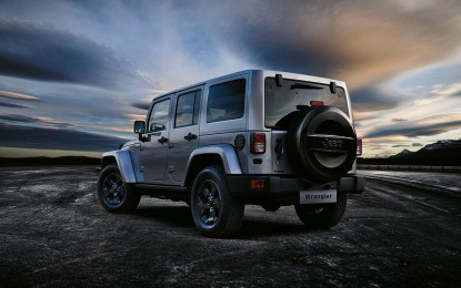 Jeep Wrangler Black Edition anche in Italia