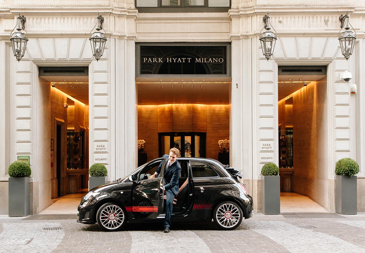 Abarth partner di Park Hyatt Milano