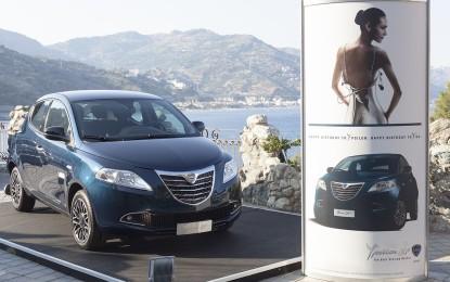 Lancia Ypsilon sfila a Taormina