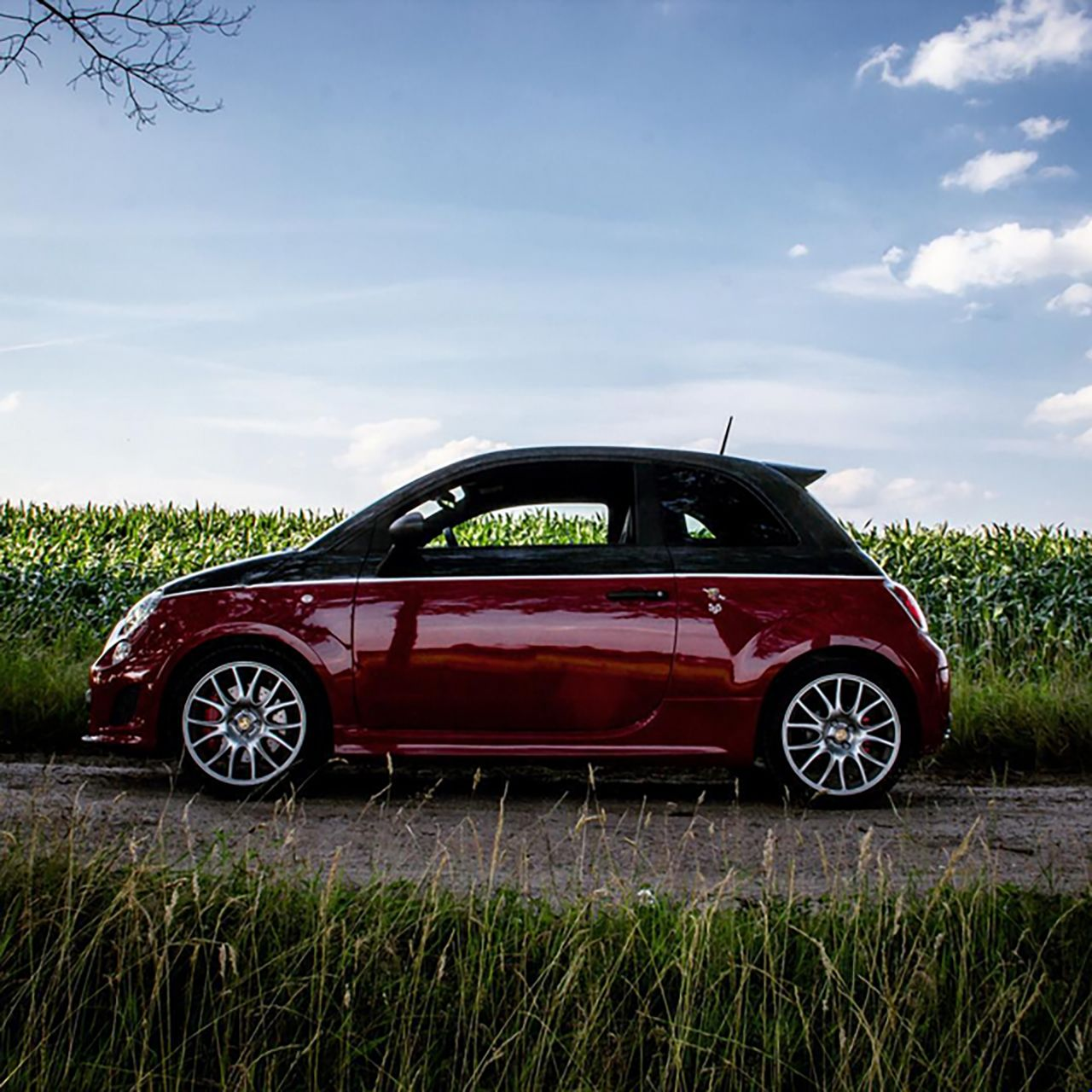 Le performance Abarth su Instagram