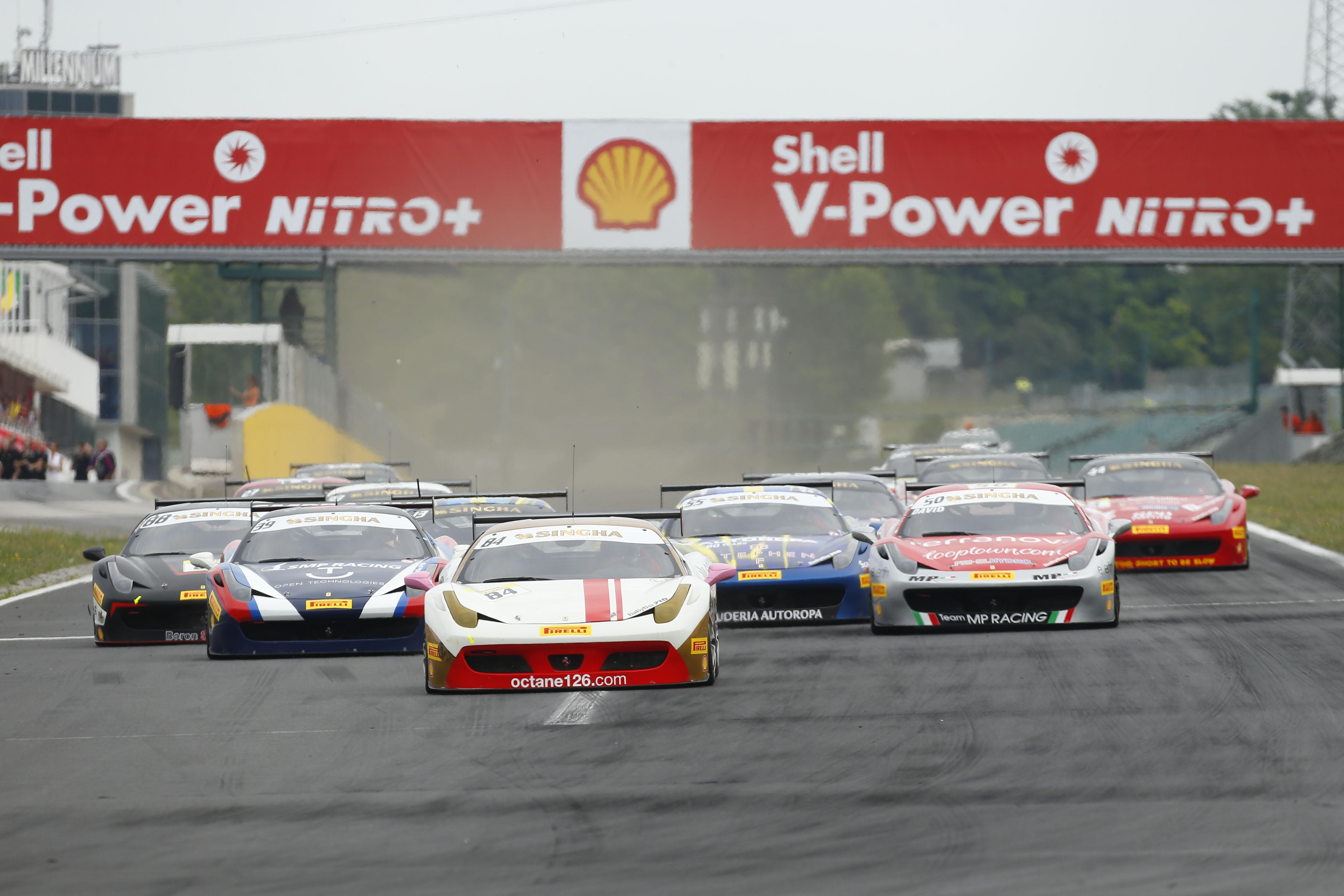 Ferrari Challenge a Le Castellet
