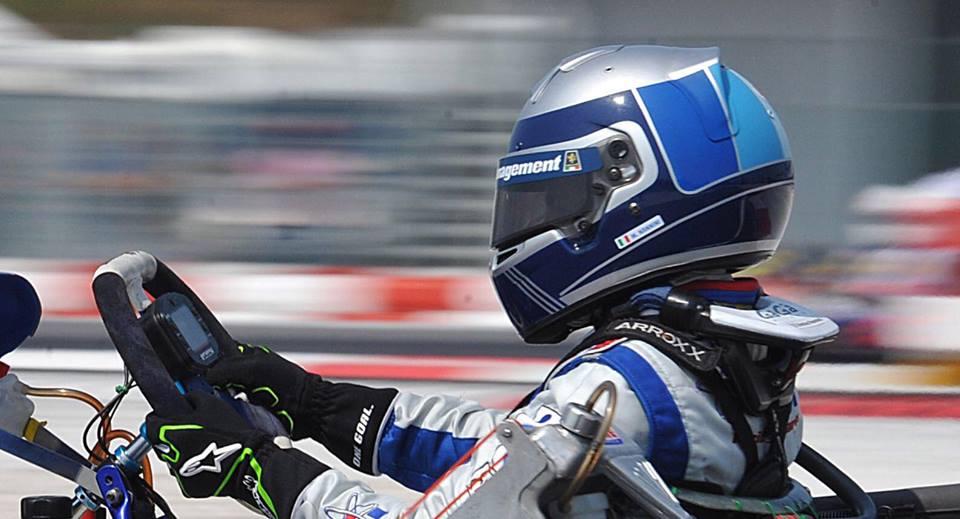 Kart: Matteo Nannini ad Adria con RB Racing
