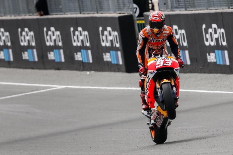 MotoGP: Marquez padrone del Sachsenring