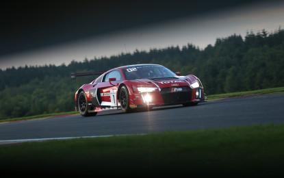 Audi R8 LMS on pole at Spa
